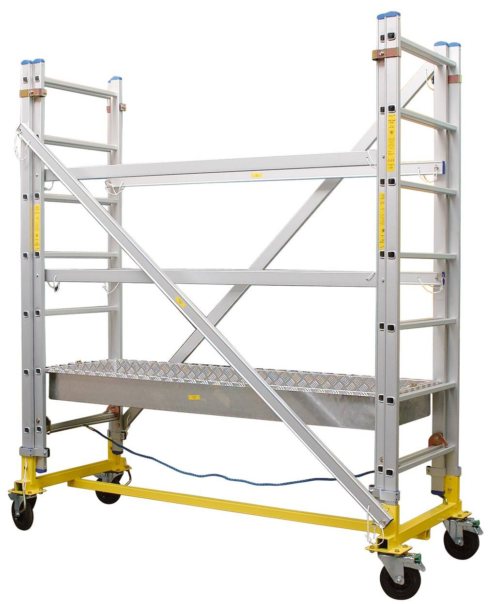 4 Aluminum Rolling Scaffold : Aluminum scaffold rj impiger pl